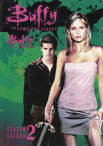 Buffy the Vampire Slayer - The Complete Second Season (Keepcase) (Bilingual) (Pink Spine) DVD Movie