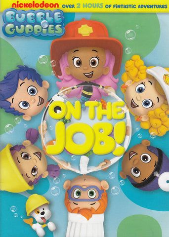 Bubble Guppies - On The Job! DVD Movie