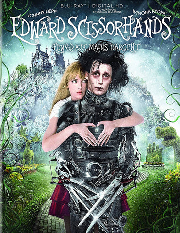 Edward Scissorhands (Bilingual) (Blu-ray + Digital Copy) (Blu-ray) BLU-RAY Movie