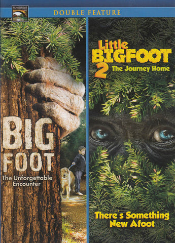 Big Foot / Little Big Foot 2 (Double Feature) DVD Movie