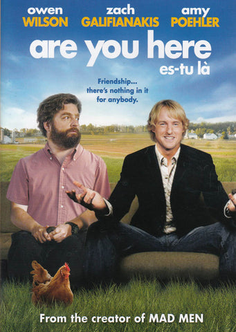 Are You Here (Bilingual) DVD Movie