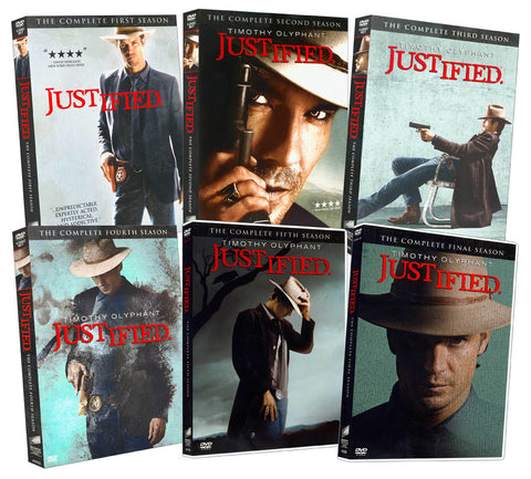 Justified (The Complete 1-6 Season) (Boxset) DVD Movie