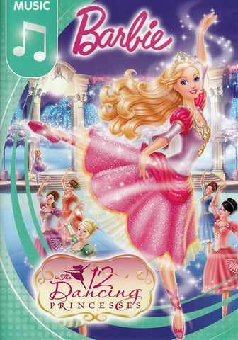 Barbie in The 12 Dancing Princesses DVD Movie