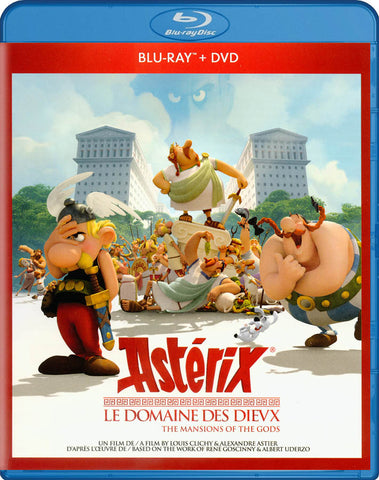 Asterix - Le Domaine Des Dieux (Blu-ray / DVD) (Blu-ray) (Bilingual) BLU-RAY Movie