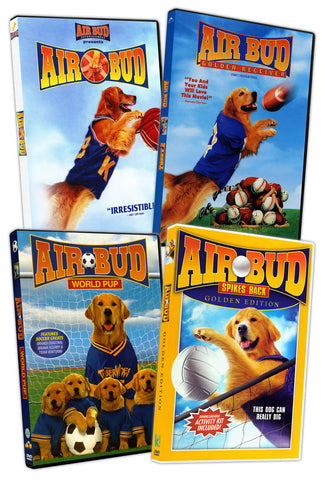 Air Bud Collection (Air Bud / Golden Receiver / Air Bud - World Pup / Spikes Back) (Boxset) DVD Movie