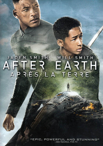 After Earth (Bilingual) DVD Movie