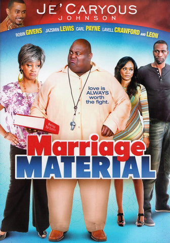 Je'Caryous Johnson's - Marriage Material DVD Movie