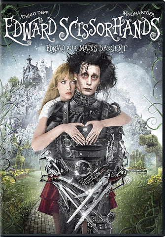 Edward Scissorhands (25th Anniversary) (Bilingual) DVD Movie
