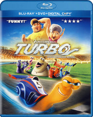 Turbo (Blu-ray / DVD / Digital Copy) (Blu-ray) (Bilingual)