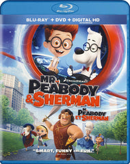 Mr. Peabody And Sherman (Blu-ray / DVD / Digital HD) (Blu-ray) (Bilingual)