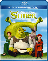 Shrek (Blu-ray + DVD + Digital HD) (Blu-ray) (Bilingual)