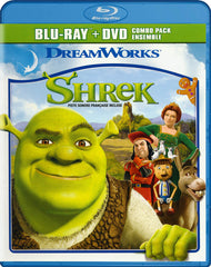 Shrek (Blu-ray + DVD) (Blu-ray) (Bilingual)