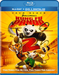 Kung Fu Panda 2 (Blu-ray + DVD + Digital Copy) (Blu-ray) (Bilingual)