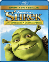 Shrek - Anniversary Edition (Blu-ray / DVD / Digital Copy) (Blu-ray) (Bilingual)