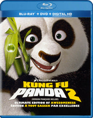 Kung Fu Panda 2 (Ultimate Edition Of Awesomeness) (Blu-ray / DVD / Digital HD) (Blu-ray) (Bilingual)