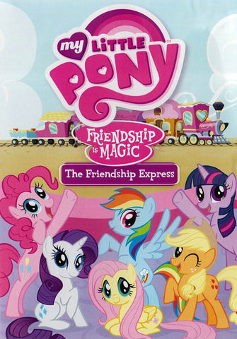 My Little Pony Friendship Is Magic - The Friendship Express DVD Movie