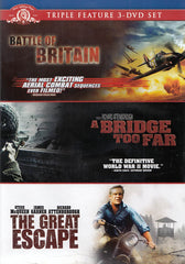 Battle Of Britain / A Bridge Too Far / The Great Escape (Triple Feature 3-DVD Set)