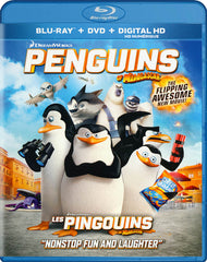 Penguins Of Madagascar (Blu-ray / DVD / Digital HD) (Blu-ray) (Bilingual)