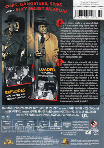 A Bullet For Joey (MGM Film Noir) (MGM) (Bilingual) DVD Movie