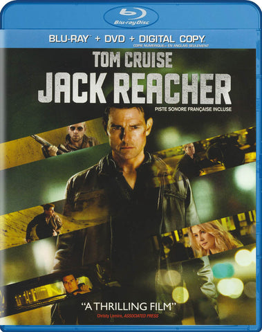 Jack Reacher (Blu-ray / DVD / Digital Copy) (Bilingual) (Blu-ray) BLU-RAY Movie