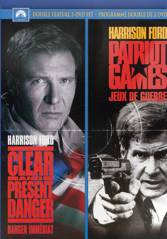 Clear and Present Danger / Patriot Games (Double Feature) (Bilingual) DVD Movie