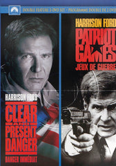 Clear and Present Danger / Patriot Games (Double Feature) (Bilingual)