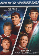 Star Trek V - The Final Frontier / Star Trek VI - The Undiscovered Country (Double Feature) (Bilingu