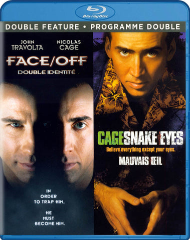 Face/Off / Snake Eyes (Double Feature) (Blu-ray) (Paramount) (Bilingual) BLU-RAY Movie