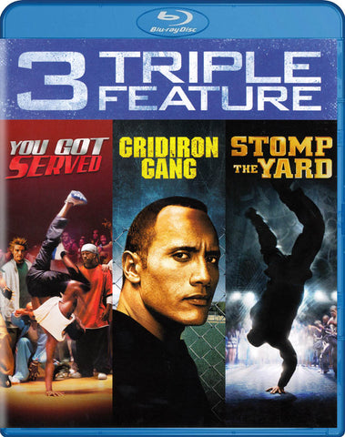 You Got Served / Gridiron Gang / Stomp The Yard (Triple Feature) (Blu-ray) BLU-RAY Movie
