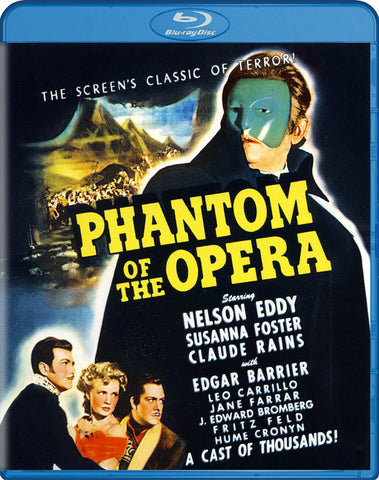 Phantom of the Opera (1943) (Blu-ray) BLU-RAY Movie
