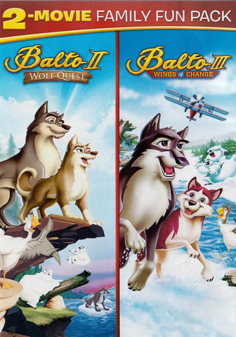 Balto 2 - Wolf Quest / Balto 3 - Wings of Change (Double Feature) DVD Movie