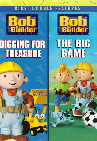 Bob the Builder - Digging for Treasure / The Big Game (Kids double Features) DVD Movie