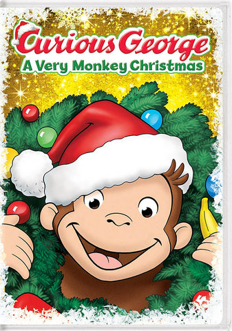Curious George: A Very Monkey Christmas (White Cover) DVD Movie