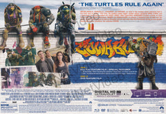 TMNT: Out Of The Shadows Cowabunga Collection Gift Set (Blu-ray + Action Figures) (Blu-ray)(Boxset)