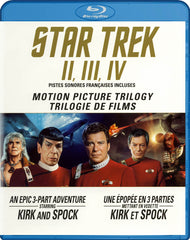 Star Trek 2 / 3 / 4 (Motion Picture Trilogy) (Blu-ray) (Bilingual)
