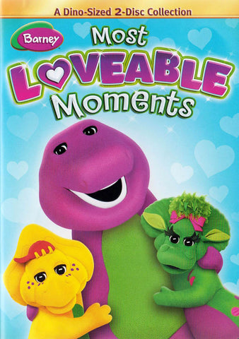 Barney: Most Loveable Moments DVD Movie