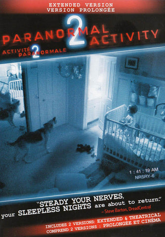 Paranormal Activity 2 (Extended Version) (Bilingual) DVD Movie
