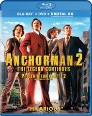 Anchorman 2: The Legend Continues (Blu-ray + DVD + Digital HD) (Blu-ray) (Bilingual)