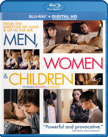 Men, Women & Children (Bilingual) (Blu-ray + Digital HD) DVD Movie