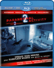 Paranormal Activity 2 Extended Version (Blu-ray + DVD + Digital Copy) (Blu-ray) (Bilingual)