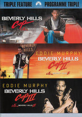 Beverly Hills Cop / Beverly Hills Cop 2 / Beverly Hills 3 (Triple Feature) (Bilingual) (Light Blue)