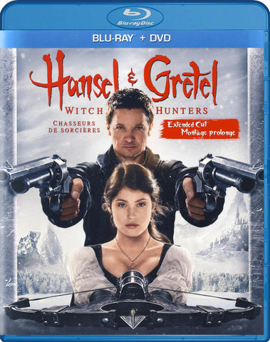 Hansel and Gretel - Witch Hunters (Extended Cut) (Blu-ray + DVD) (Blu-ray) (Bilingual) BLU-RAY Movie