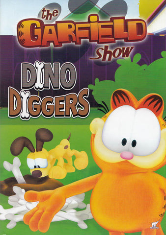 The Garfield Show - Dino Diggers DVD Movie