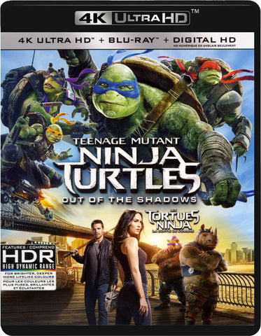 Teenage Mutant Ninja Turtles - Out of the Shadows (4K Ultra HD / Blu-ray / Digital HD) (Blu-ray) (Bi BLU-RAY Movie