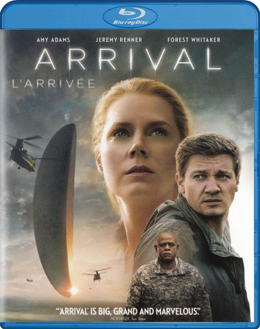 Arrival (Blu-ray) (Bilingual) BLU-RAY Movie