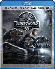 Jurassic World 3D (Blu-ray 3D / Blu-ray / DVD / Digital HD) (Blu-ray) (Bilingual)