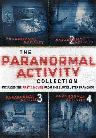 The Paranormal Activity Collection (4-Movie Collection) (Keepcase) (Paramout) DVD Movie