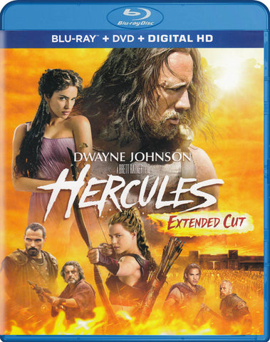Hercules (Extended Cut) (Blu-ray + DVD + Digital HD) (Blu-ray) BLU-RAY Movie