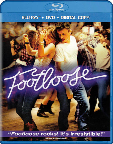 Footloose (Blu-ray + DVD + Digital Copy) (Blu-ray) BLU-RAY Movie