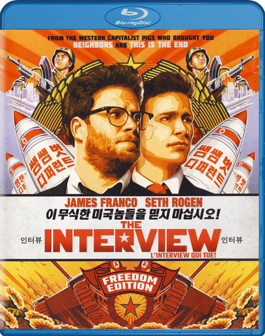 The Interview (Seth Rogen) (Blu-ray) (Bilingual) BLU-RAY Movie